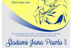 plakat Śladami Jana Pawła II