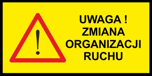 zmiana organizacji ruchu