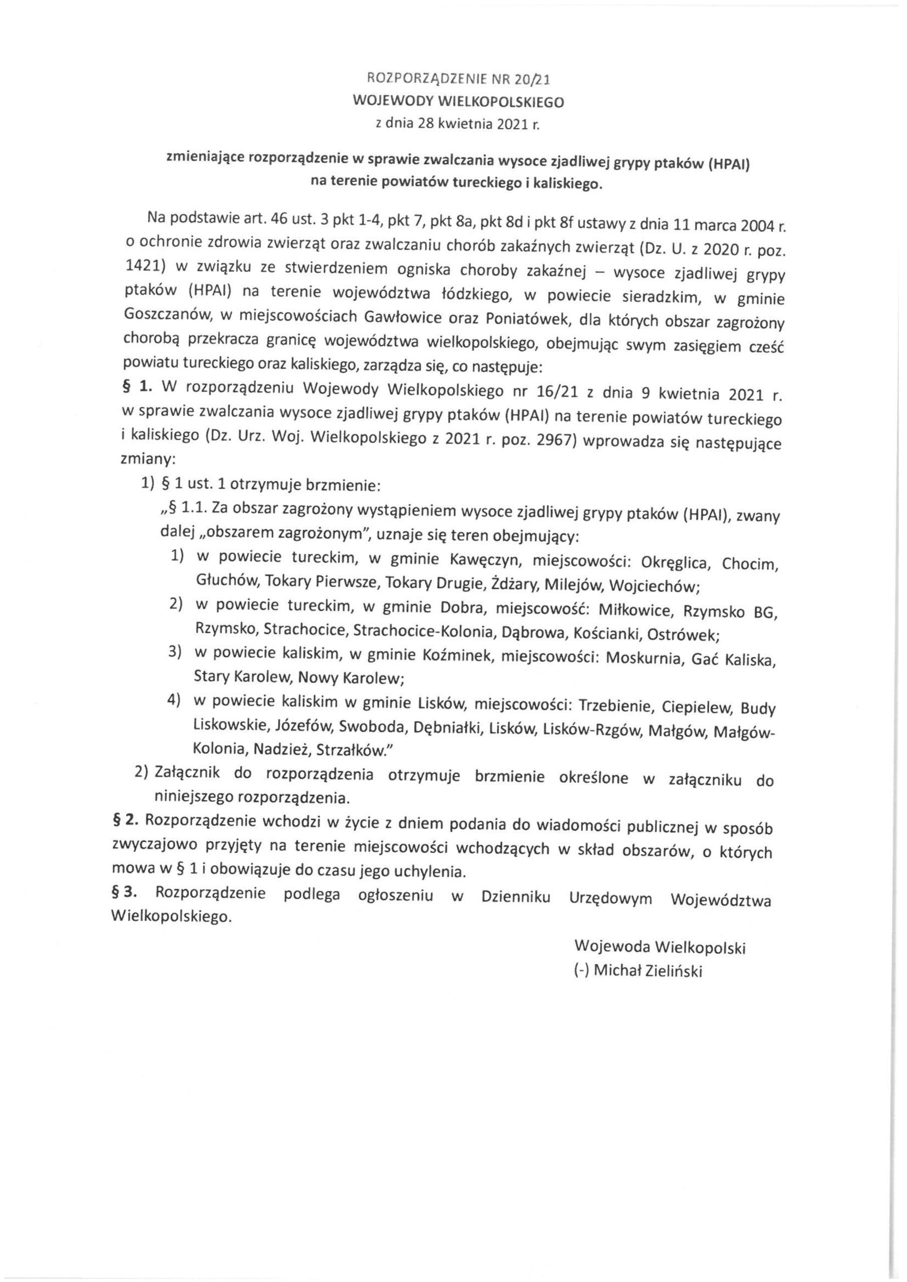 Rozporządzenie nr 201