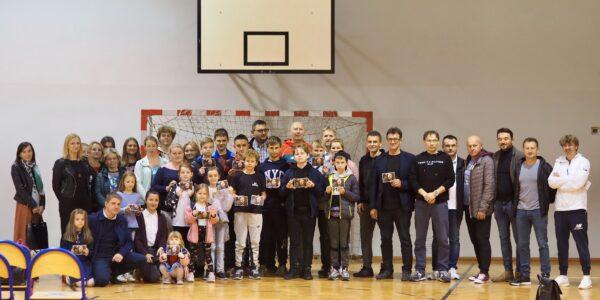 Spotkanie z Mistrzem Olimpijskim Szymonem Ziółkowskim w Wyszynie